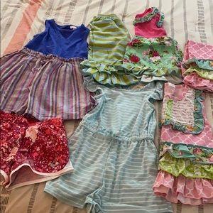 4T toddler girl lot